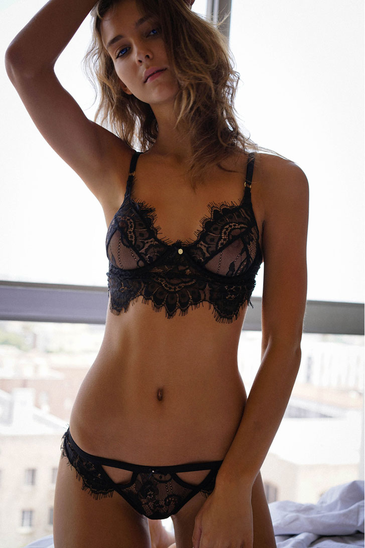 Рейчел Кук в нижнем белье Gooseberry Intimates Lingerie 2016 - Rachel Cook by Ron Flieger