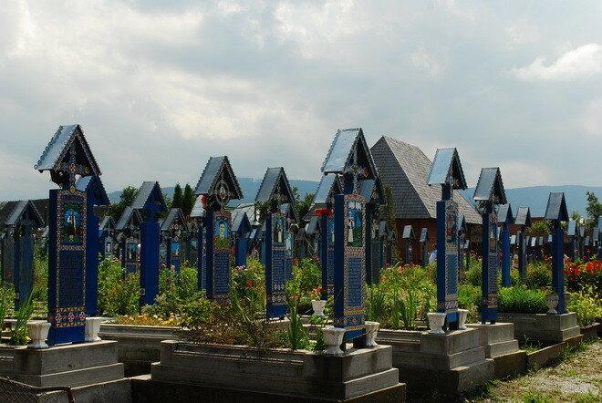 Веселое кладбище. Румыния
