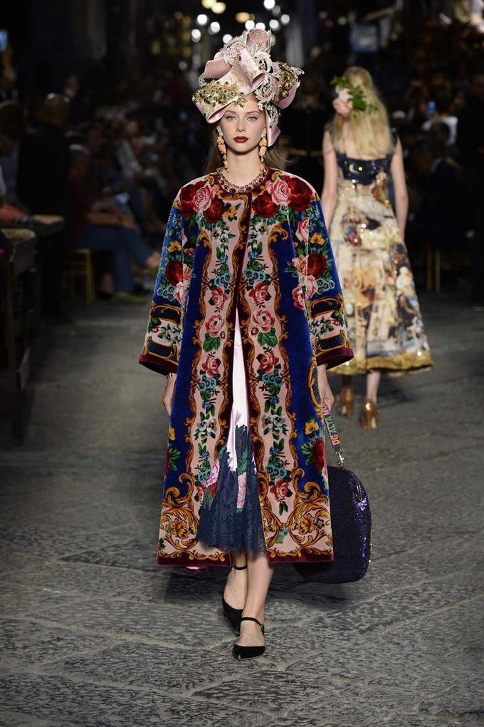 Dolce Gabbana Alta Moda осень-зима 2016