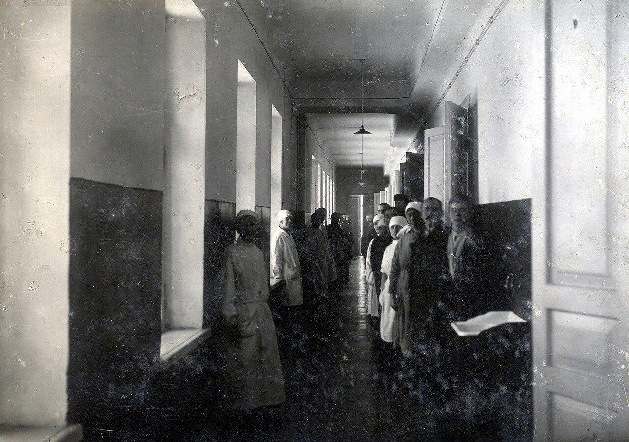 1928. Коридор больницы Побединской колонии