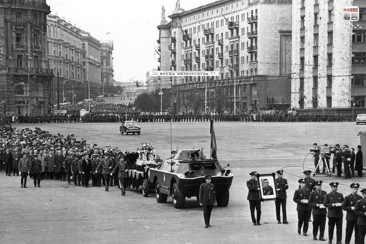 26 апреля 1967 года. Траурная процессия