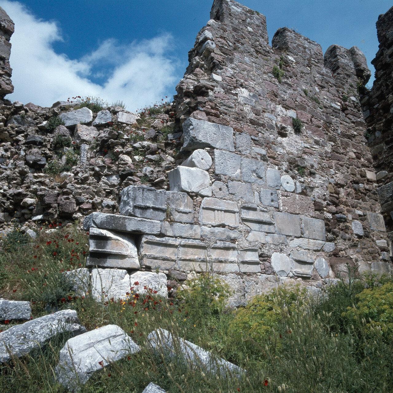 Лесбос, Митилена. Византийская крепость