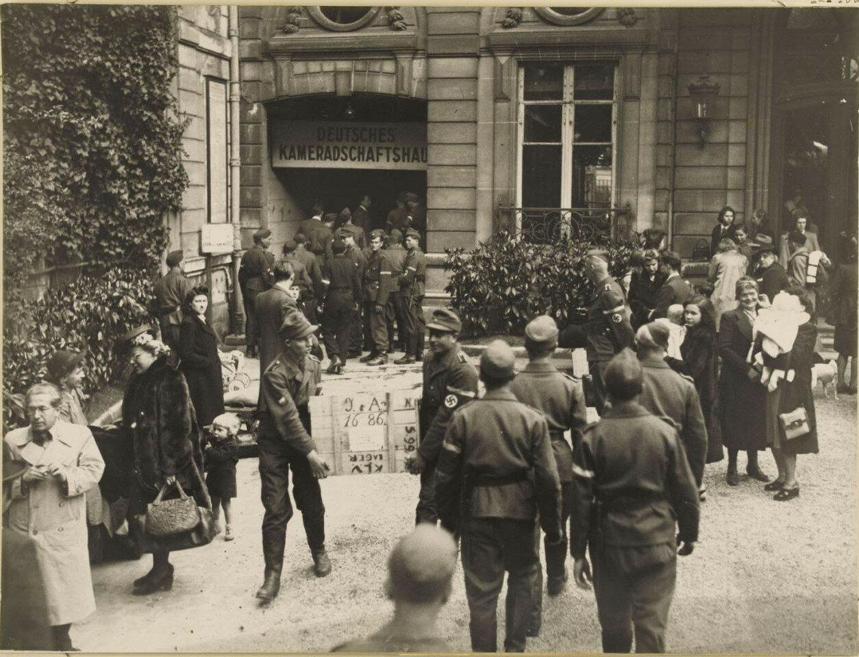 18 августа. Отъезд немецких гражданских лиц при содействия организации Тодта