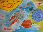 Яковенко Максим (рук. Новикова Ирина Анатольевна) - Путешествие на планету Марс