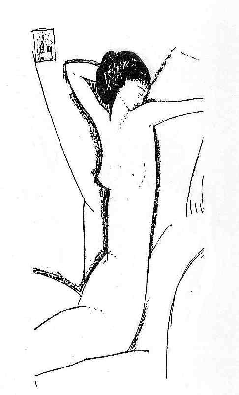 Амедео Модильяни: Анна Ахматова, НЮ, 1911 год