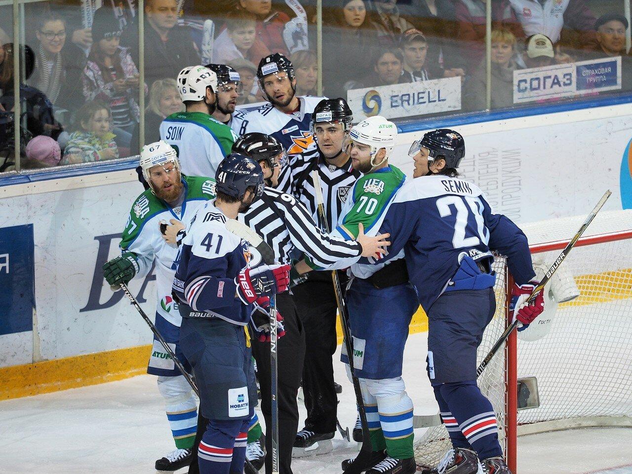 36Плей-офф 2016 Восток Финал Металлург - Салават Юлаев 25.03.2016