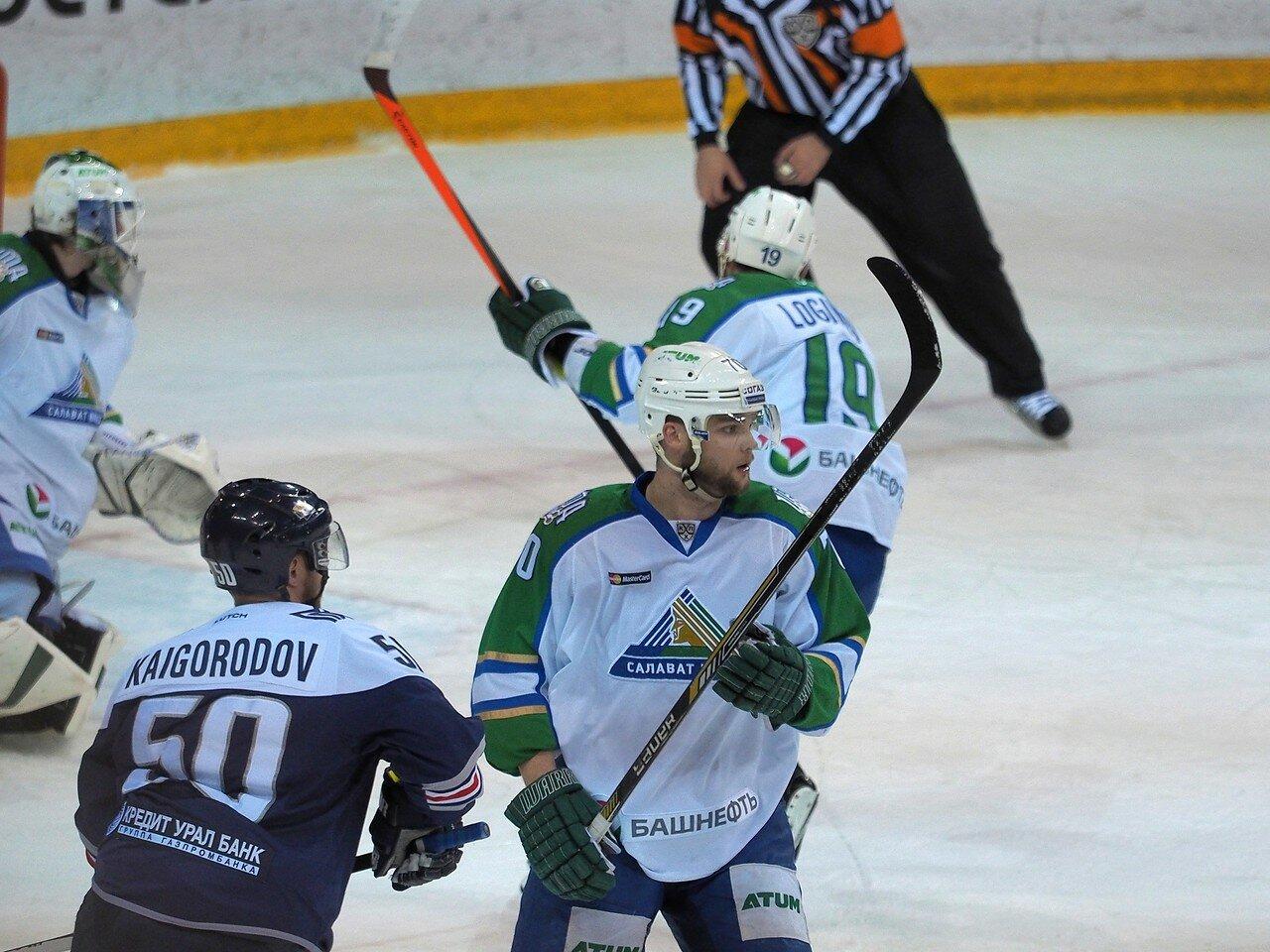 55Плей-офф 2016 Восток Финал Металлург - Салават Юлаев 31.03.2016