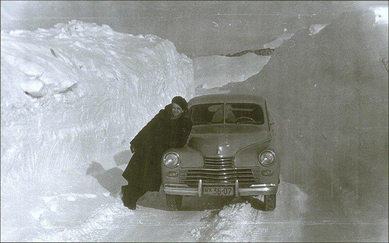 1950е Норильск ГАЗ-М20 второй серии.jpg