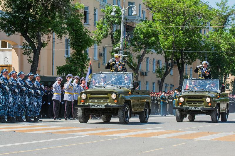 Парад Победы в Астрахани 9 мая 2016 года