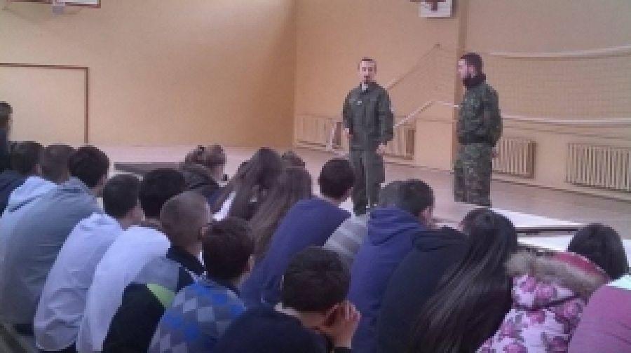 Вишколюємо учащихся школ Тернополя