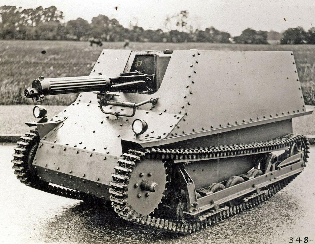 Machine Gun Carrier Mk VI Sweden (Narrow Type) 1932