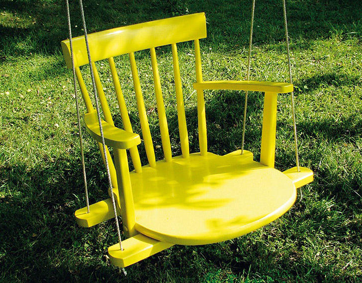 3. Из старого стула