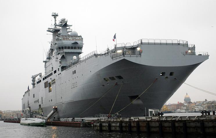 ВМФ подготовил техзадание наразработку аналога «Мистралей»