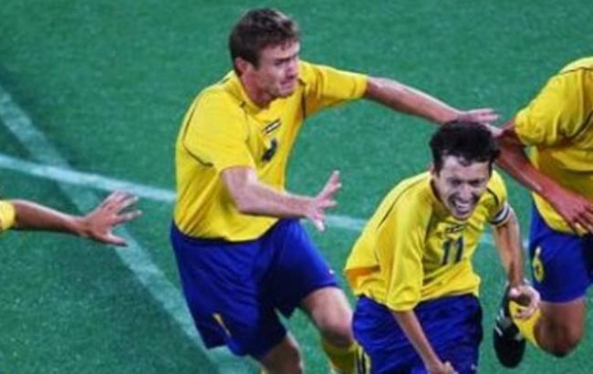 Сборная Украины пофутболу разгромила Нидерланды