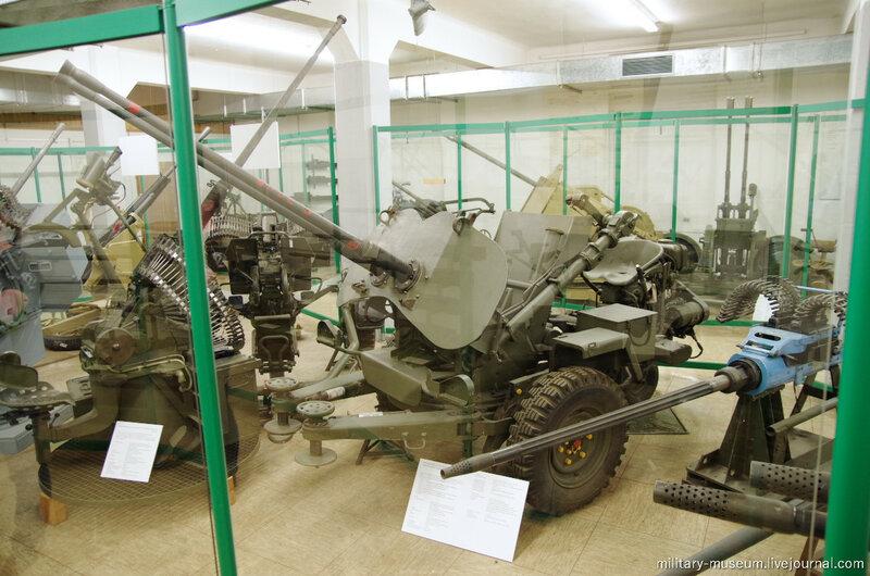 Стрелковое и легкое оружие в Военном музее в Кобленце