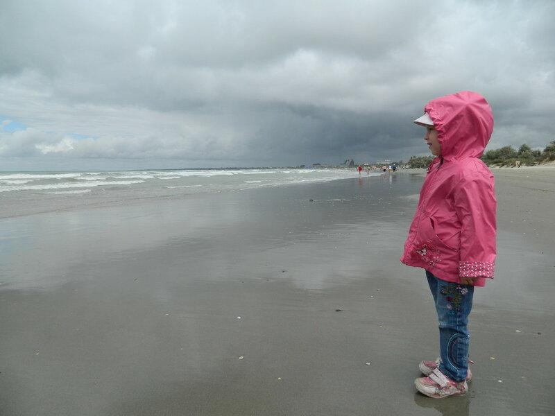 Шторм на пляже Анапы