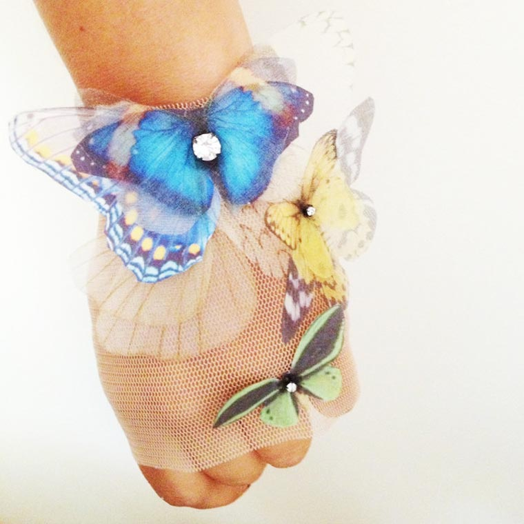 Butterfly Jewelry - The light and delicate creations of Derya Aksoy