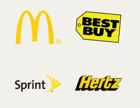 Желтый цвет в маркетинге