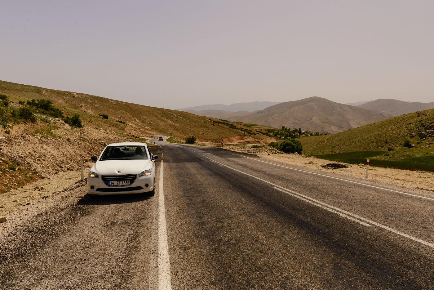 Фотография 29. Полупустыня по пути в Памуккале из Кемера и Чиралы. 1/500, 8.0, 200, 24.