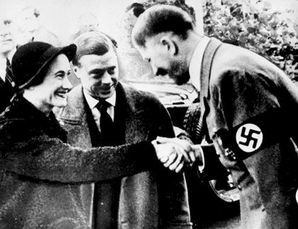 Prinz Harrys UrgroЯonkel Herzog von Windsor traf Hitler