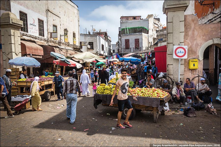 Старая медина в Касабланке
