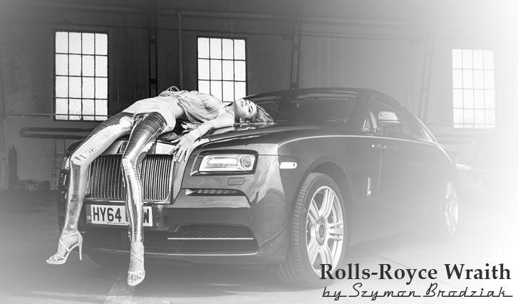 Rolls-Royce Wraith - Ludwika Cichecka by Szymon Brodziak
