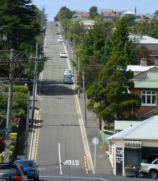 Болдуин стрит. Новая Зеландия
