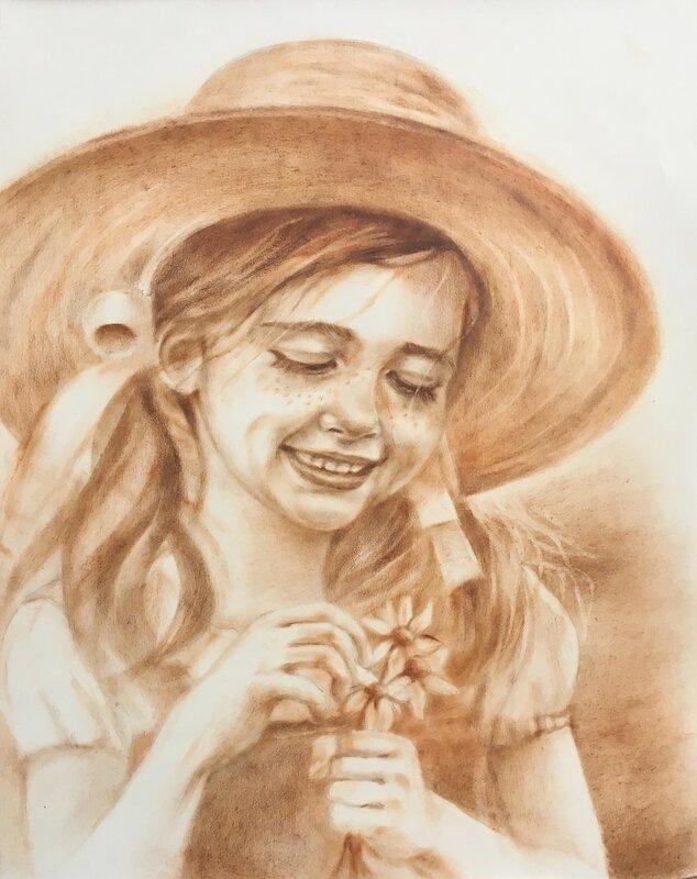 Лето, ах лето...Чудесные портреты художницы luboff00