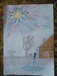 """Пастухова Анастасия (рук. Волик Мария Сергеевна ) - """"Наступление Весны"""""""