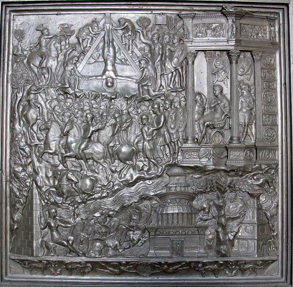 Porta_del_filarete,_1433-1445,_26_crocifissione_di_san_paolo_01.jpg