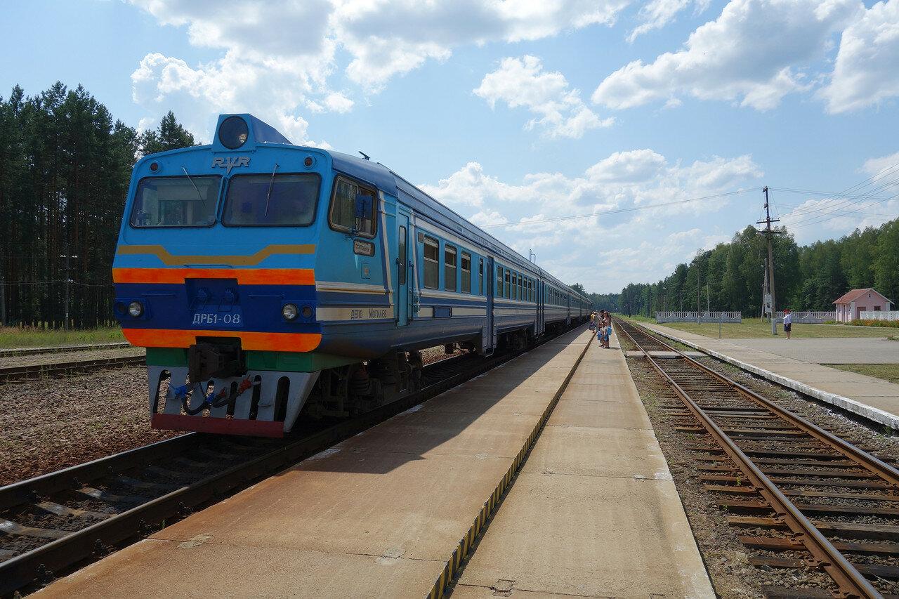 ДРБ1-08 на станции Елизово БЧ