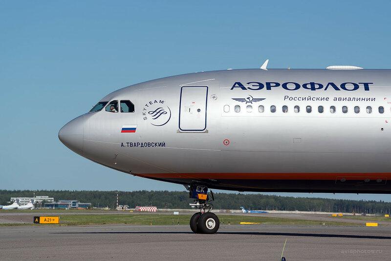Airbus A330-343 (VQ-BEK) Аэрофлот D800627