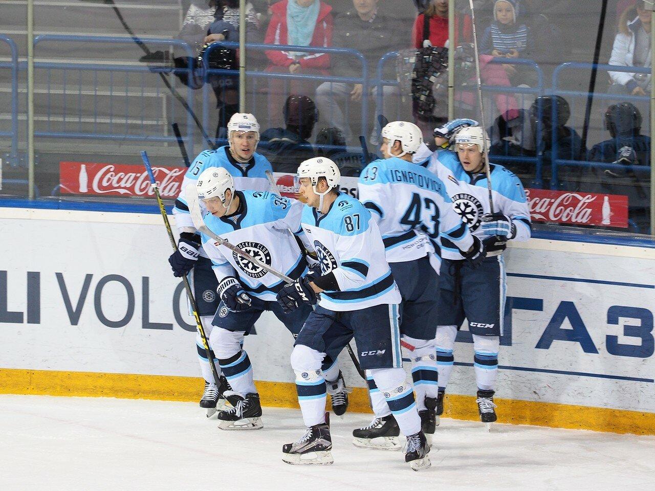 74Плей-офф 2016 Восток 1/2 Металлург - Сибирь 10.03.2016
