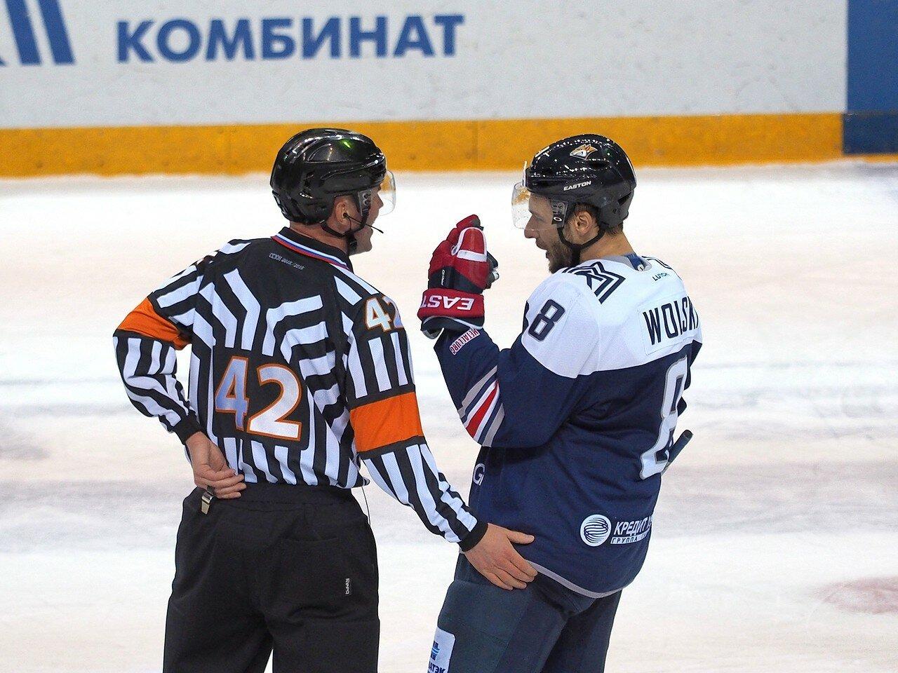 61Плей-офф 2016 Восток 1/2 Металлург - Сибирь 16.03.2016