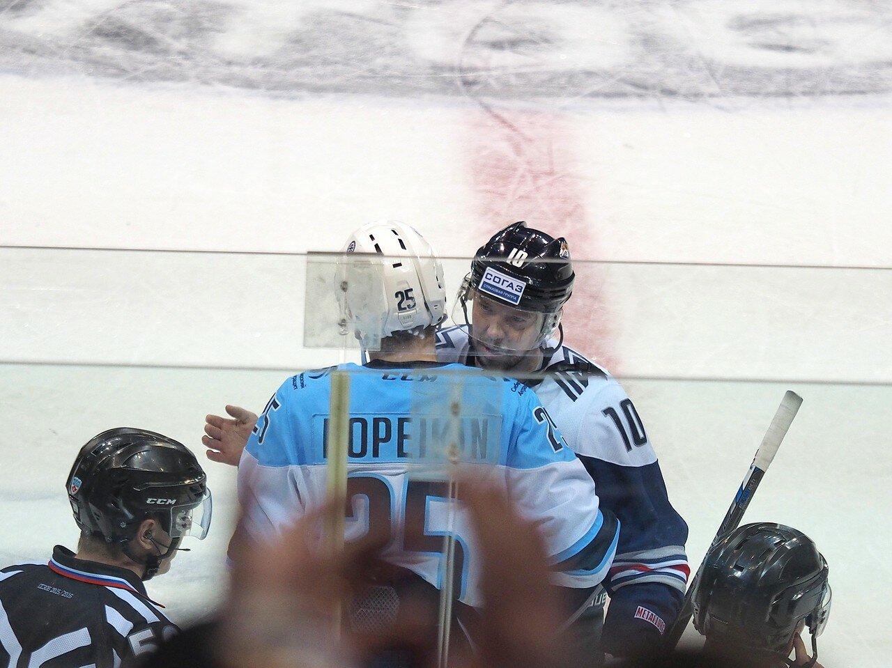 78Плей-офф 2016 Восток 1/2 Металлург - Сибирь 16.03.2016