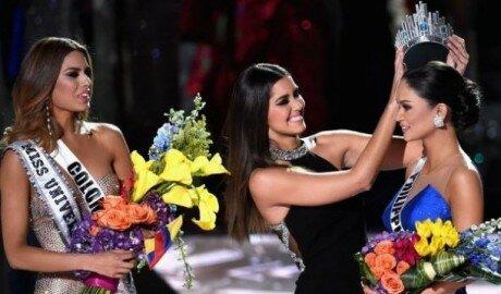 Скандал на вручении титула «Мисс Вселенная–2015»