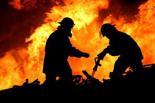 В январе в Бельцах произошло 4 пожара, 1 человек погиб
