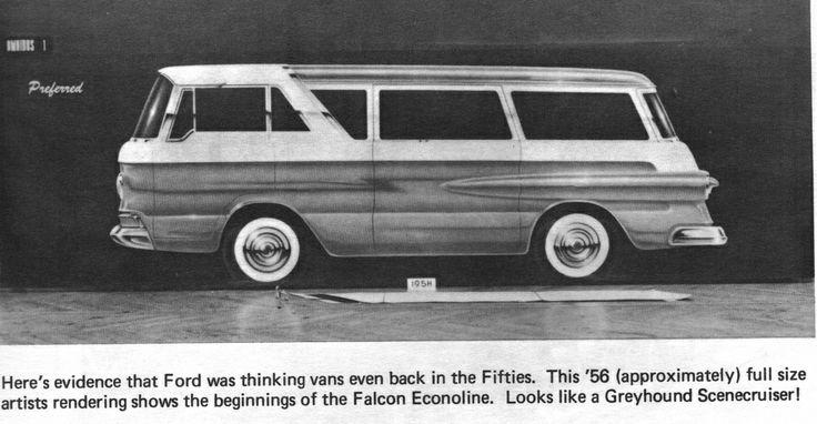 Ford Styling Photo Artist Rendering Falcon Econoline Van 1956.jpg