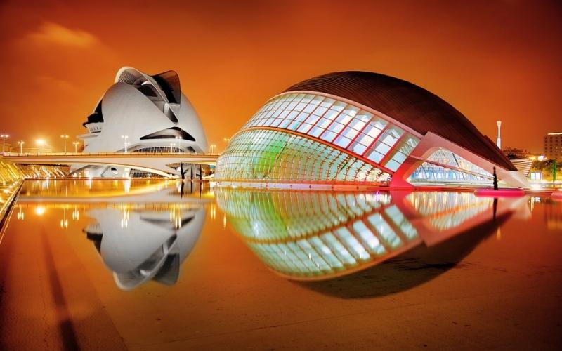 Невероятные геометрические архитектурные сооружения