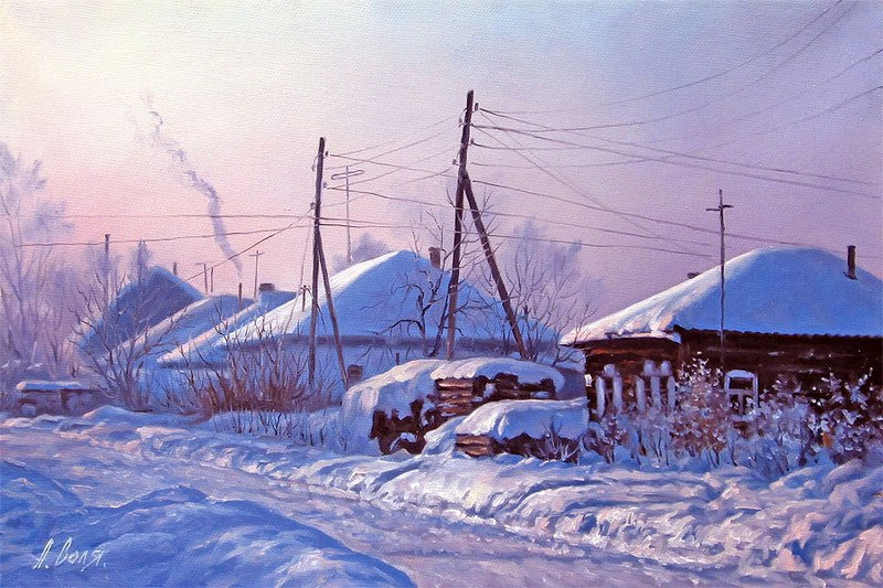 Русская зима