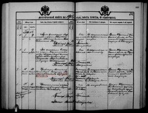 Запись о смерти и похоронах Герценштейна.