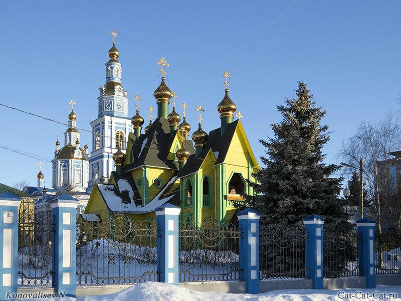 Спасо-Вознесенский кафедральный собор и Храм Во имя Всех Святых