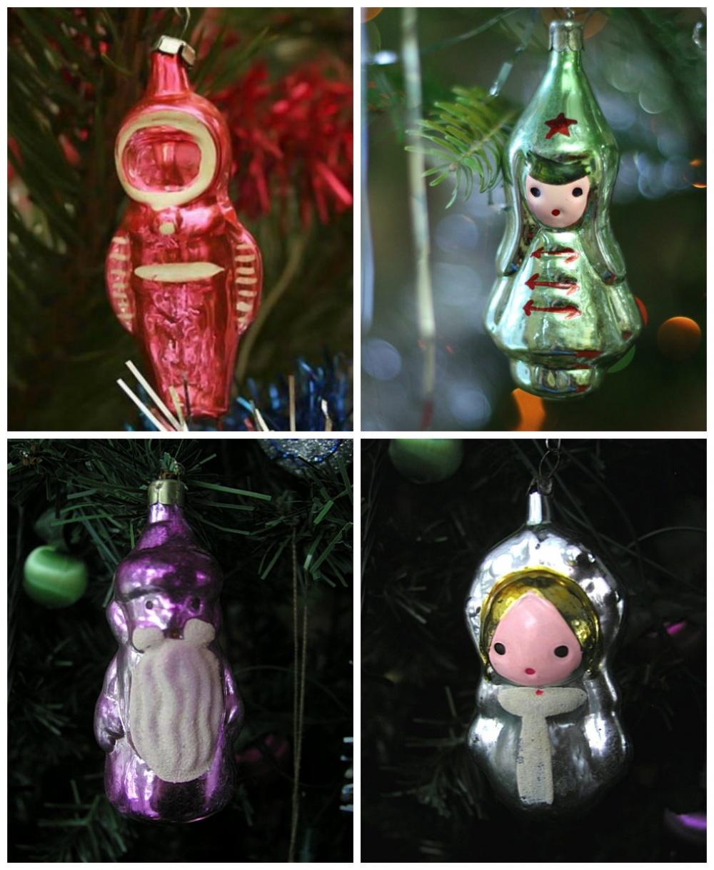 Самые скромные игрушки— изкартона, ваты, стекляруса идождика