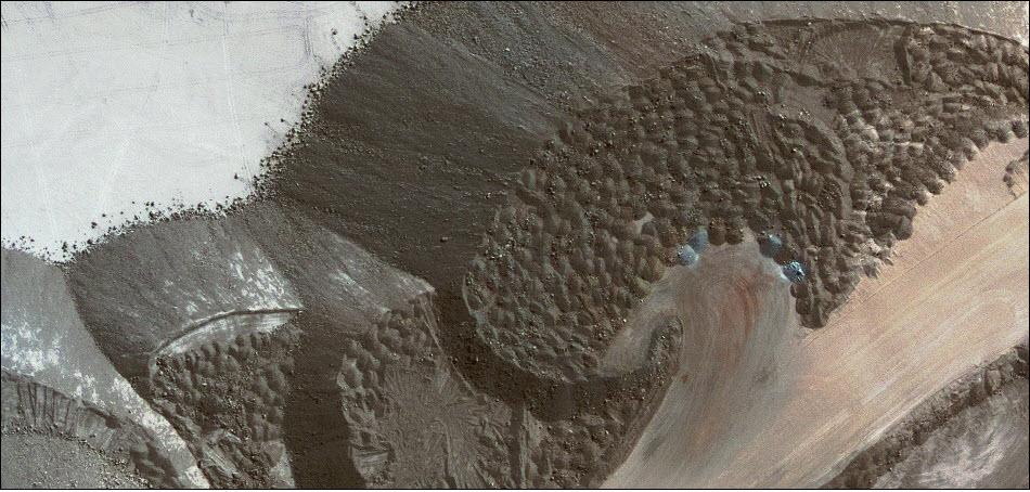 5. Фрагмент фотографии шахты Маркона в Перу.