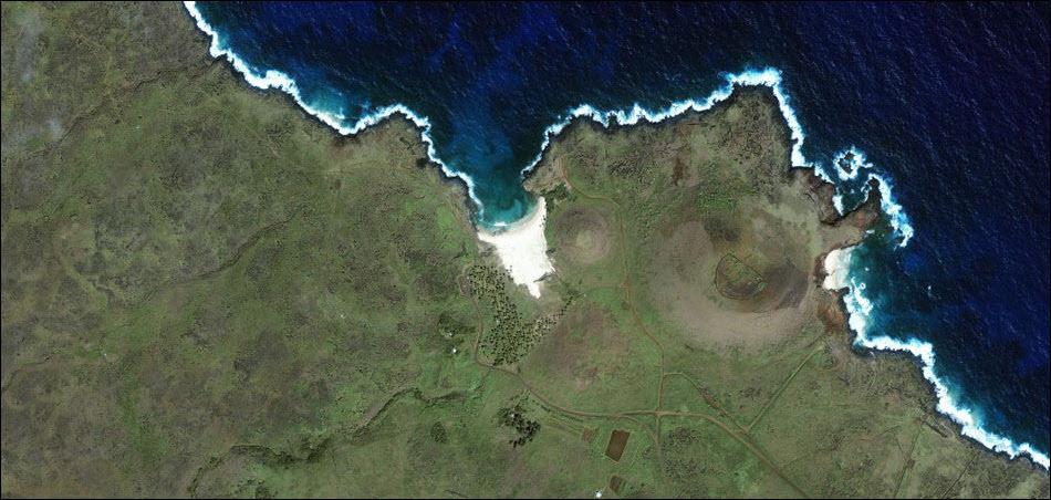 2. Остров Пасхи.