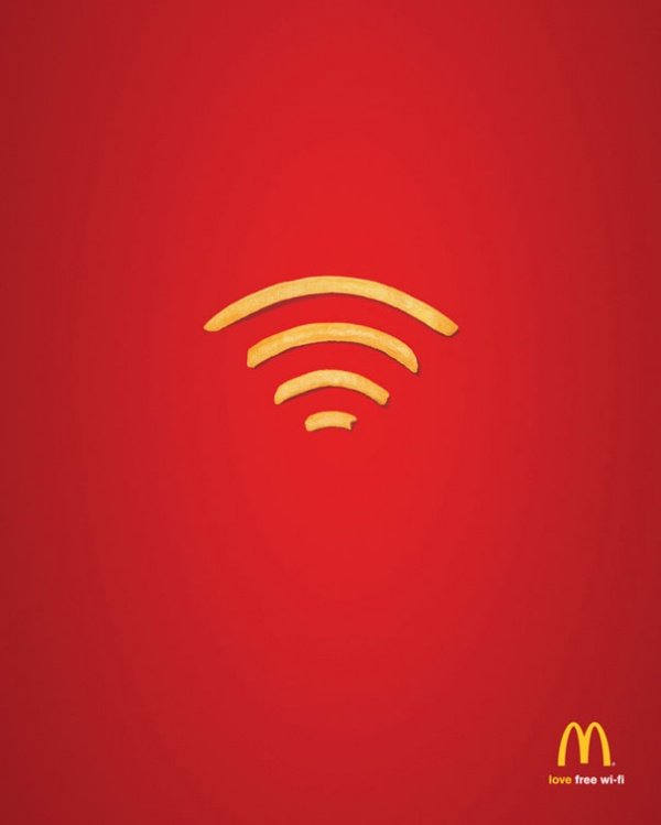 Wi-Fi вMcDonald's.