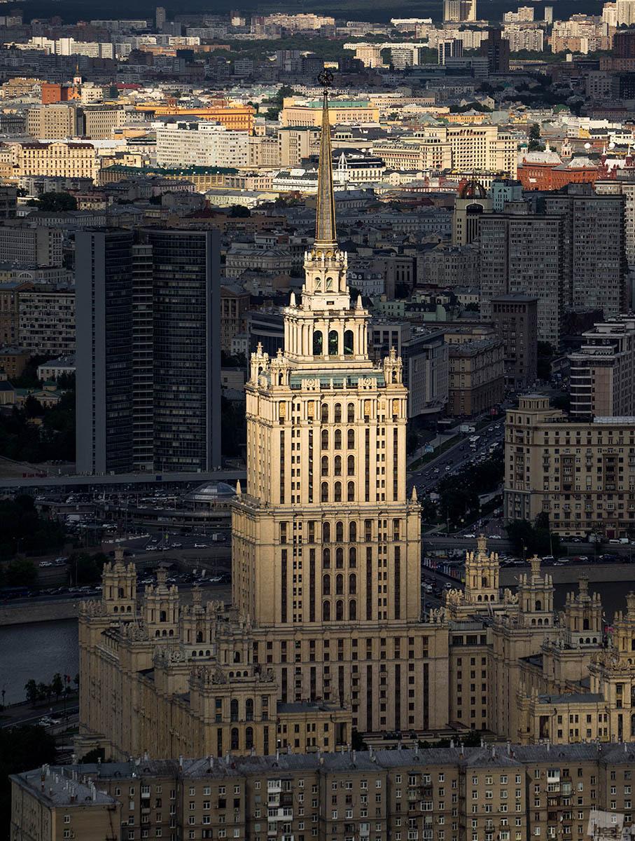 Гостиница «Украина». Георгий Розов.