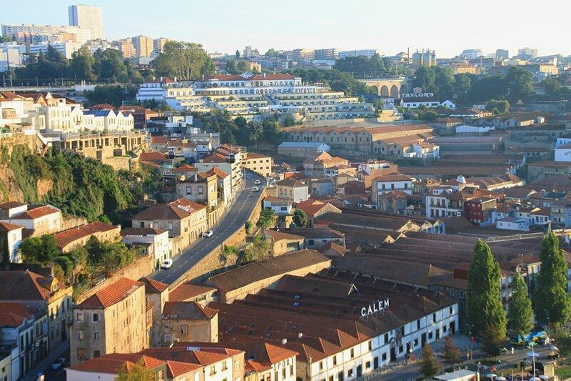 Порту, вид с моста Луиша (Porto view from Luis Bridge)