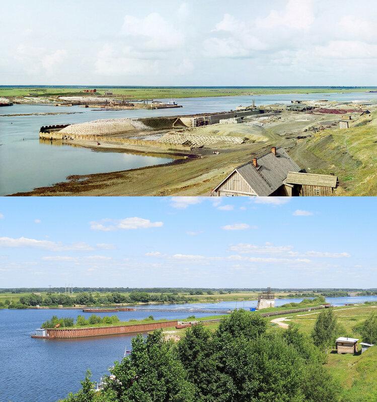 Строительство плотины и шлюза у села Кузьминское 1912-2015а.jpg