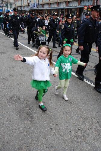 Детишки полицейских